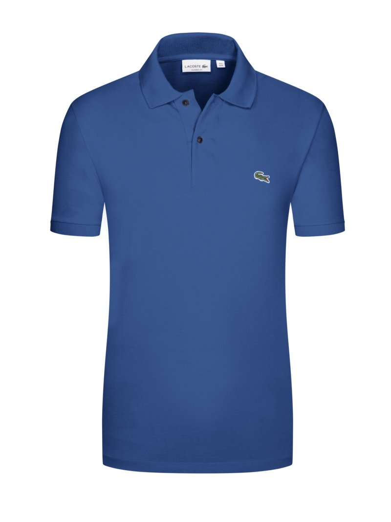 Lacoste Poloshirt, Classic Fit ROYAL in Übergröße