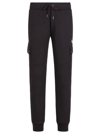 Jogging bottoms with cargo pockets v BLACK
