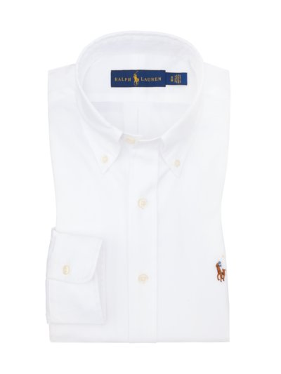 Oxford shirt v WHITE