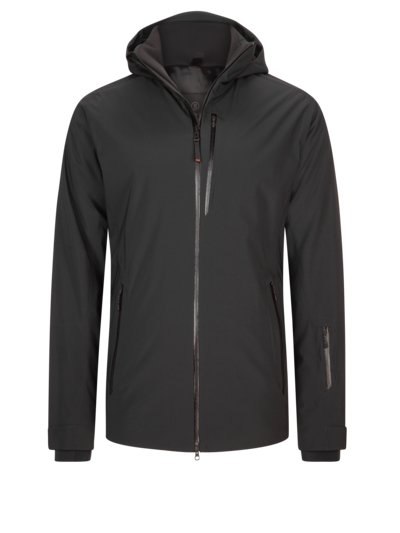 Ski jacket with two-way stretch, Eagle2-T v BLACK