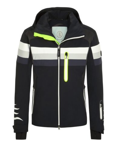 Stylish ski jacket, Jeff-T v BLACK