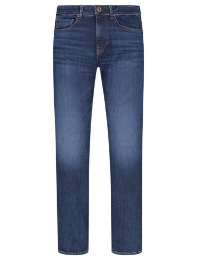 Jeans mit Stretchanteil, Regular Fit in BLAU