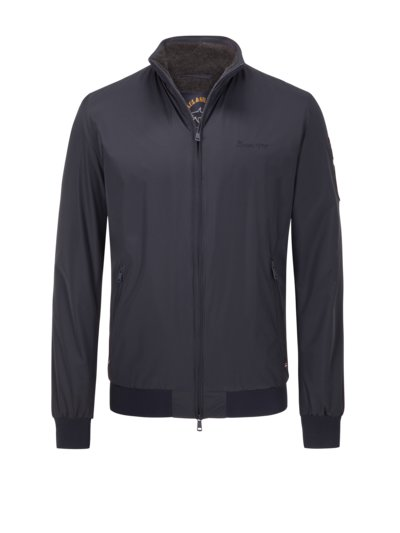 Blouson with fleece lining v MARINE