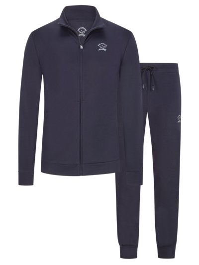 Tracksuit with stretch content v MARINE