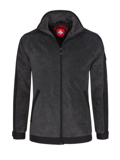 Functional fleece jacket v ANTHRACITE