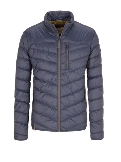 Quilted casual jacket v BLUE