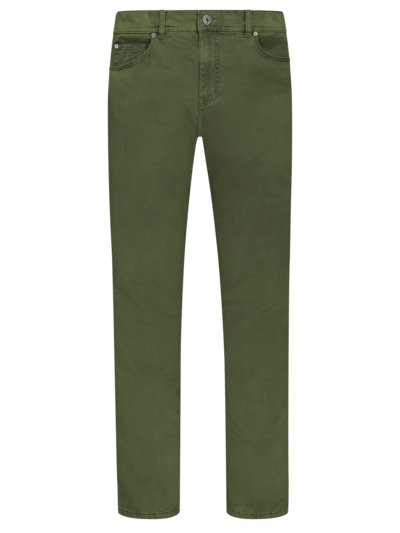 Five-pocket trousers with stretch, Cooper Marathon v GREEN