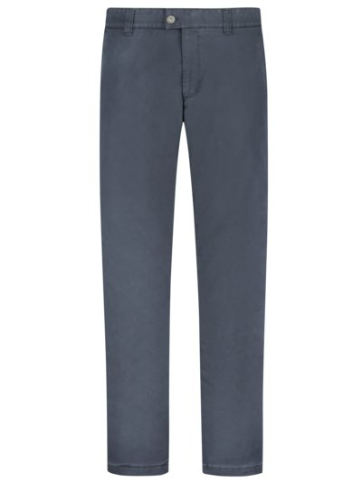 Chino mit Thermofutter, Jim-S, Regular Fit in GRAU