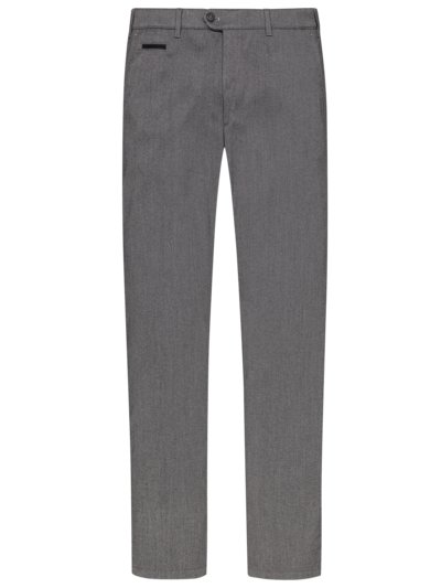 Chinos in a wool look, Everest v GREY