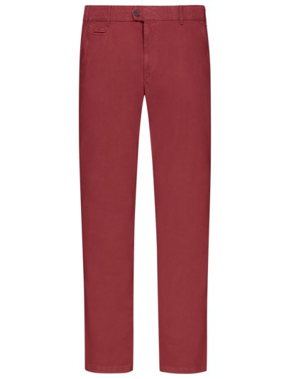 Chinos with micro pattern, Everest v RED