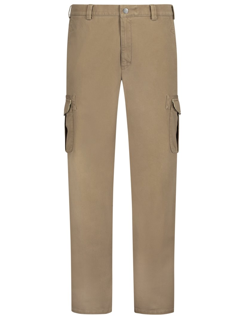 Meyer Cargo trousers with stretch, Nepal MARINE in plus size