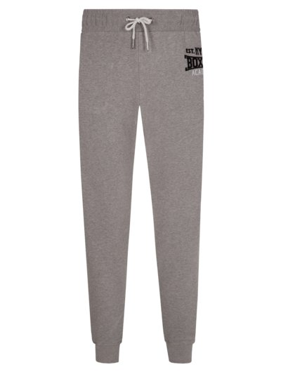 Jogging bottoms in a cotton blend v GREY