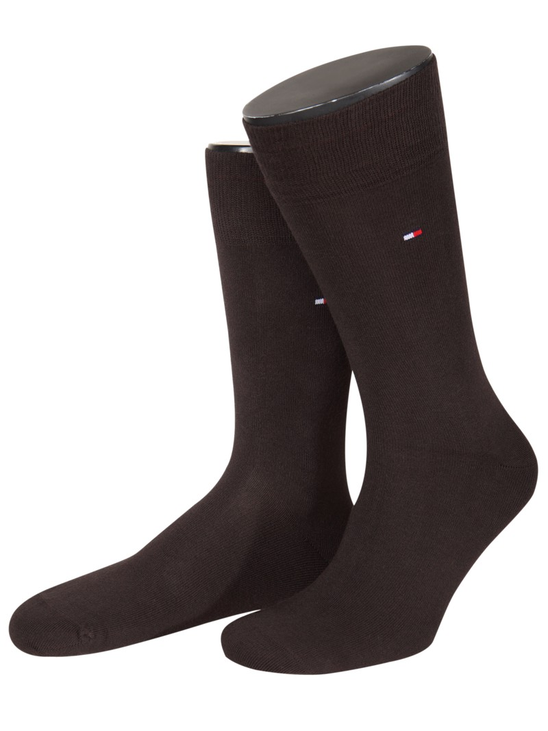 Tommy Hilfiger Socks, double pack ANTHRACITE in plus size