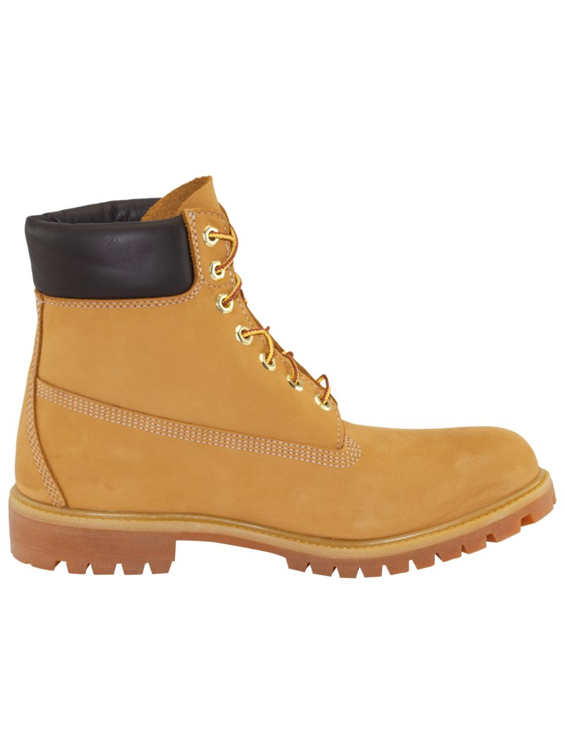 Timberland Ankle boots in nubuck leather YELLOW in plus size