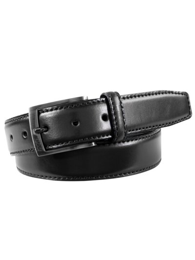 Business belt v BLACK