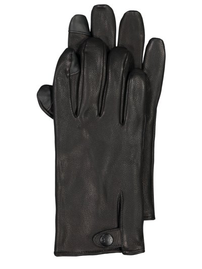 Smartphone-compatible gloves v BLACK