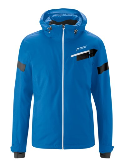 Stylish ski jacket with weather protection v BLUE