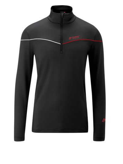 Sweatshirt in a Troyer style, Dryprotec v RED