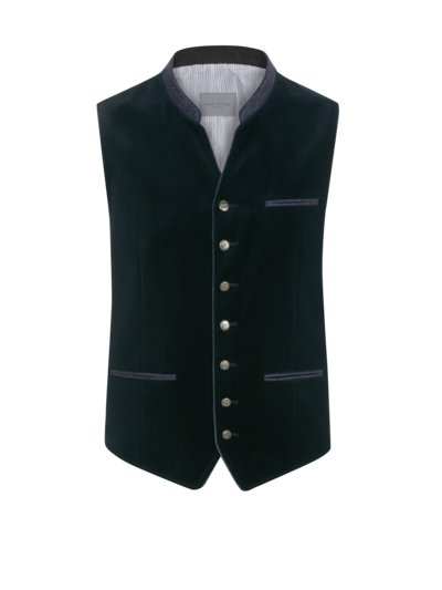 Traditional vest with a velvet front, Wilken v MARINE