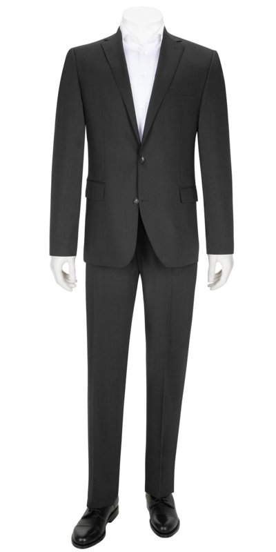 Business suit with travel features v ANTHRACITE