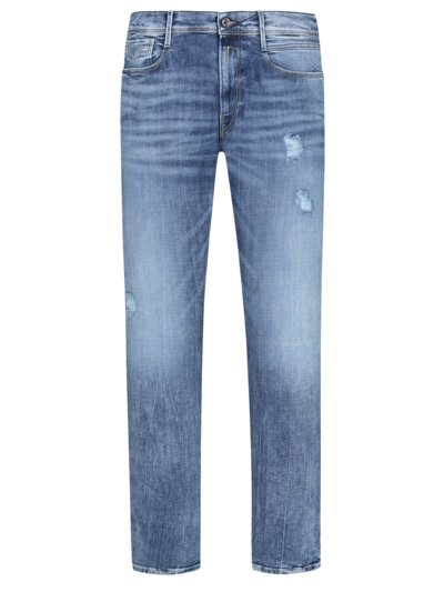 Stylish destroyed jeans, Anbass v BLUE
