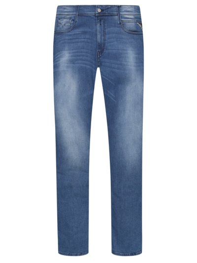 Modische Jeans im Stretch-Mix, Anbass in BLAU