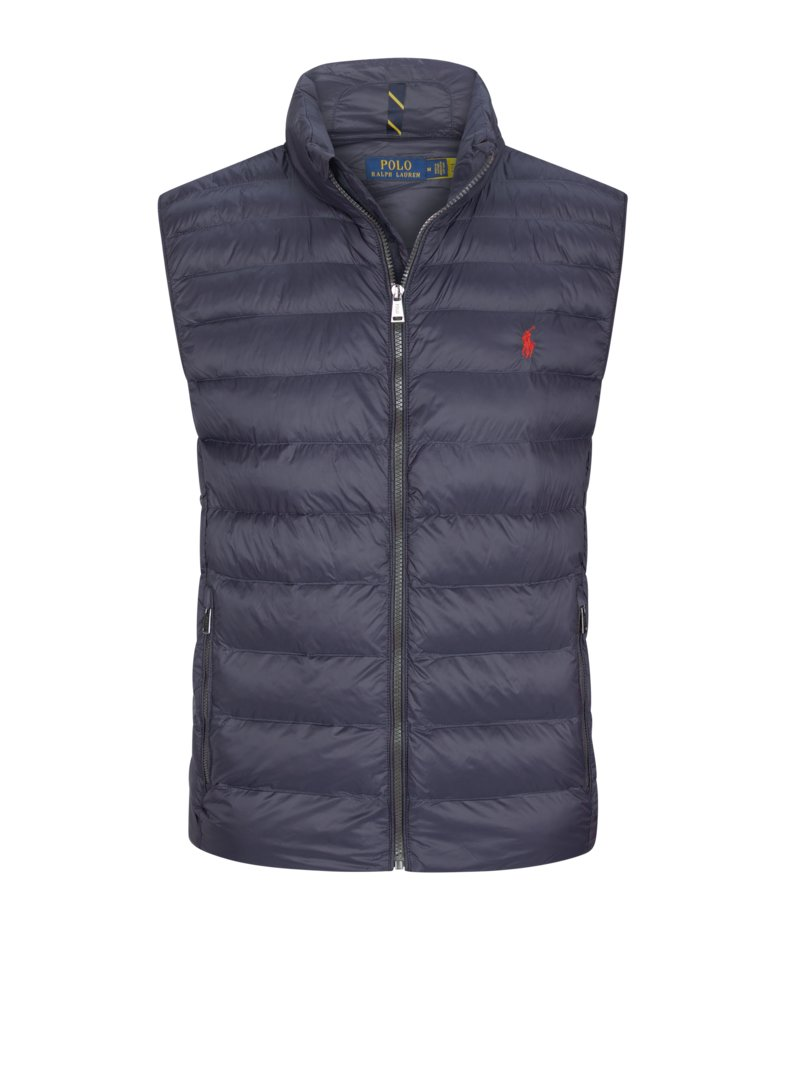 Polo Ralph Lauren Lightweight quilted gilet MARINE in plus size