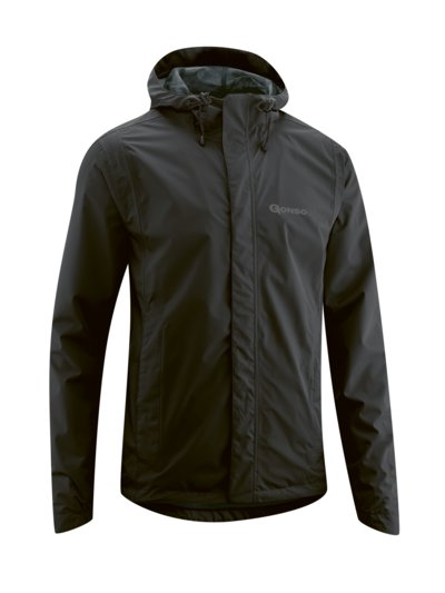 Sporty cycling jacket v BLACK