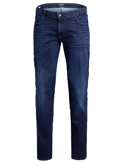 Washed jeans with stretch, Glenn v BLUE