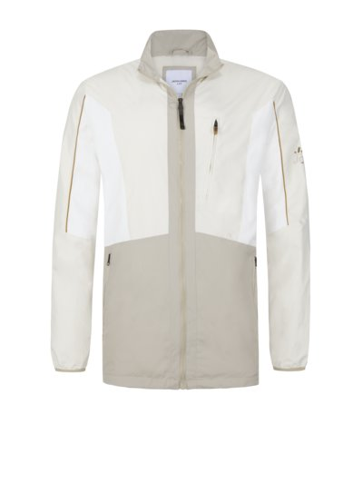 Stylish casual jacket v BEIGE