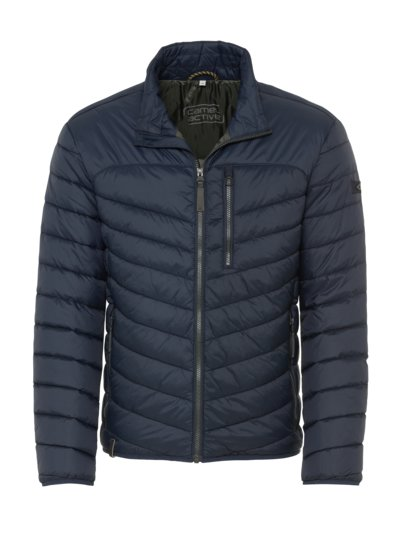 Lightweight quilted jacket v NAVY