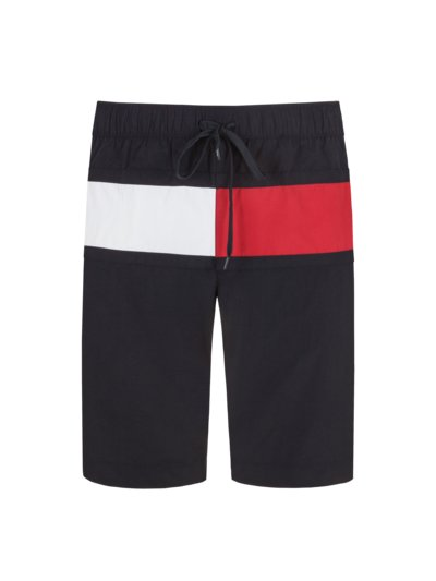 Swimming trunks with logo colours v MARINE