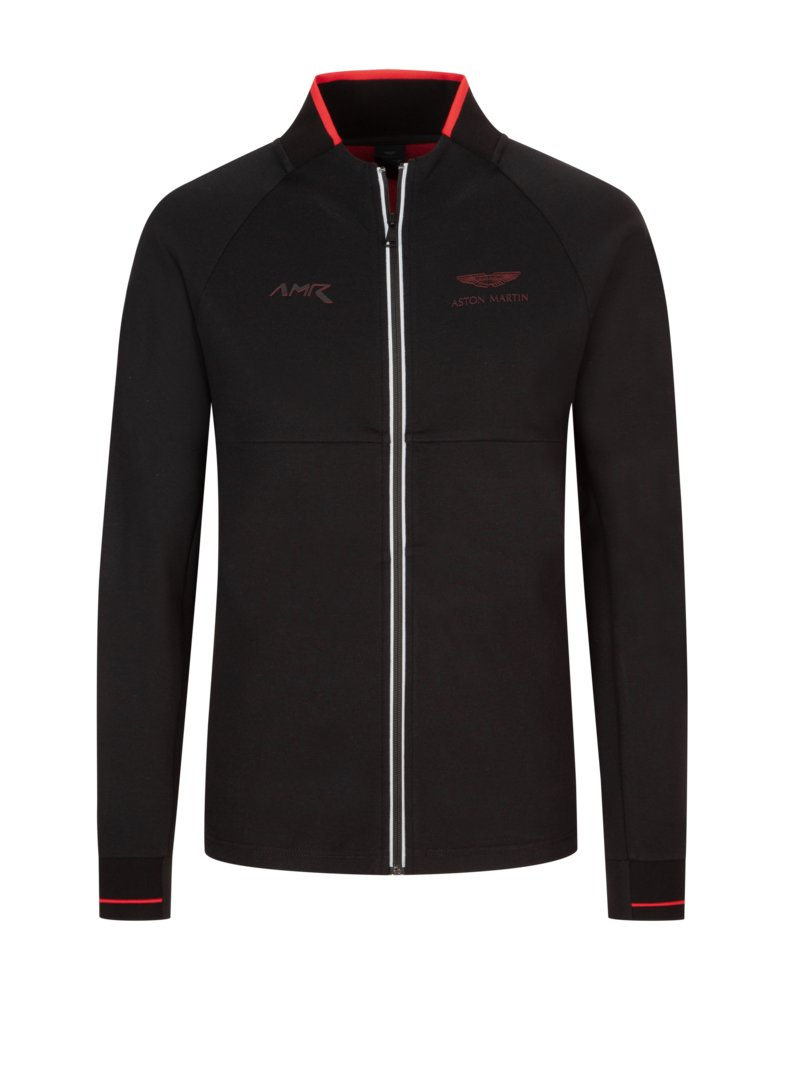 Hackett Sweatjacket, Aston Martin Collection BLACK in plus size