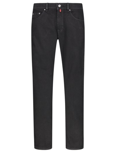 Five-Pocket-Jeans in SCHWARZ