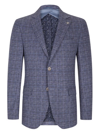 Blazer with comfort stretch v LIGHT BLUE