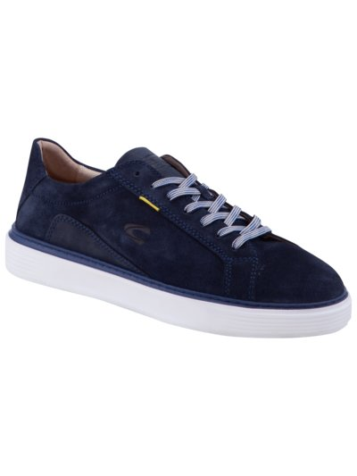 Sporty leather trainers v MARINE