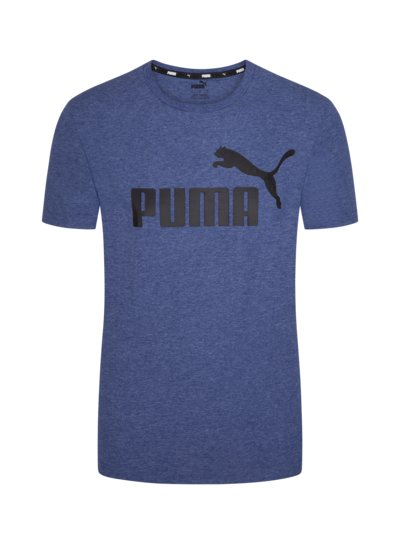 T-shirt with logo front print v BLUE