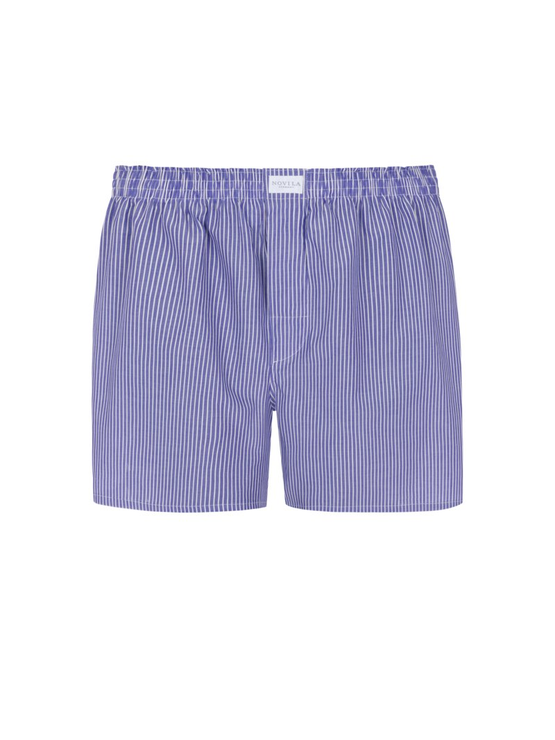Novila Boxer shorts with striped pattern GREEN in plus size