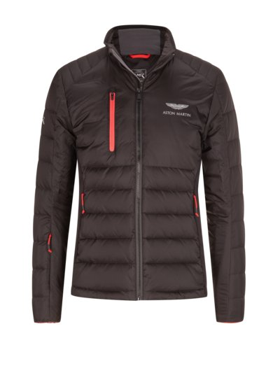 Quilted jacket, Aston Martin Collection v BLACK