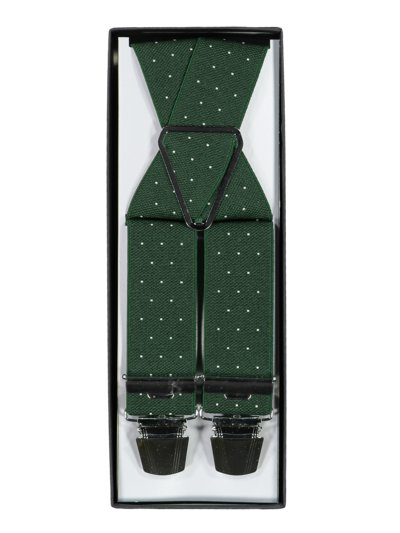 Suspenders with dot pattern v MARINE