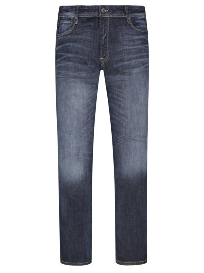 Jeans with a modern washed effect v MARINE