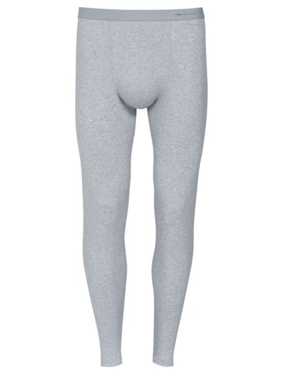Long underpants with stretch content v GREY