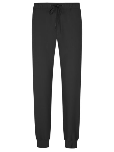 Sweatpants with stretch v BLACK