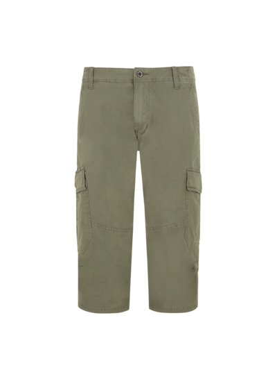 Cargo shorts with stretch content v KHAKI