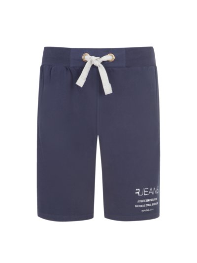 Bequeme Sweat-Shorts in MARINE