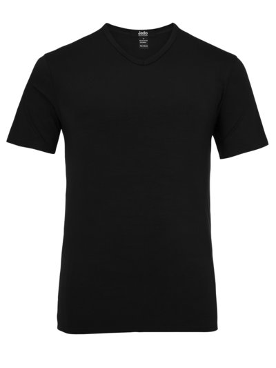 Mikrofaser-Shirt in SCHWARZ