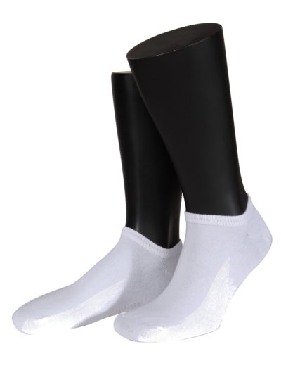 Sporty sneaker socks v WHITE