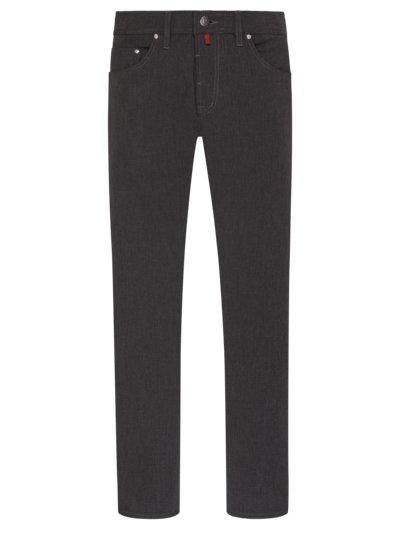 Five-pocket pants with stretch content v ANTHRACITE