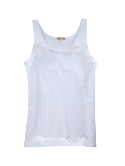 Tank-Top in WEISS
