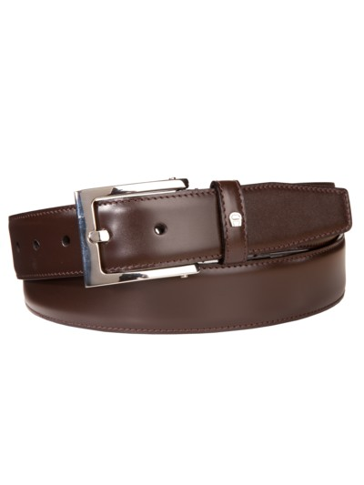 Designer belt v BROWN